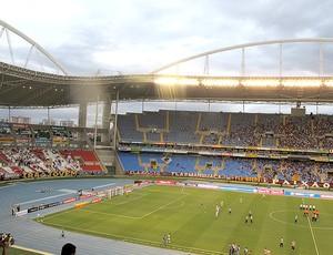 torcida estádio Engenhão jogo Vasco x Flamengo (Foto: Janir Júnior)