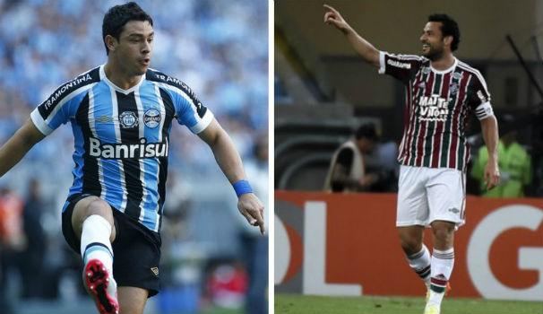 Grêmio x Fluminense (Foto: montagem/GE)