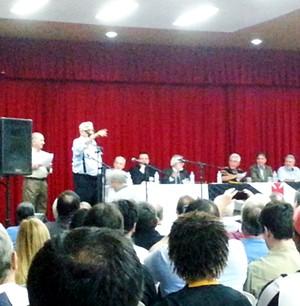 convenção Eurico Miranda (Foto: Raphael Zarko)