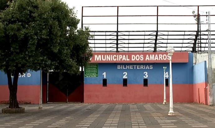 Estádio dos Amaros, Oeste, Itápolis (Foto: Reprodução / TV TEM)