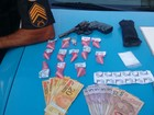 Jovem é detida com cocaína e arma após denúncia em Petrópolis, no RJ