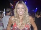 Gabriela Pugliesi chama atenção com look justinho: 'Bumbum cresceu'