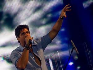 Victor & Leo cantam em Barretos. (Foto: Flavio Moraes / G1)