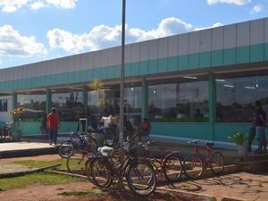 Hospital Regional de Vilhena, RO (Foto: Lauane Sena/G1)
