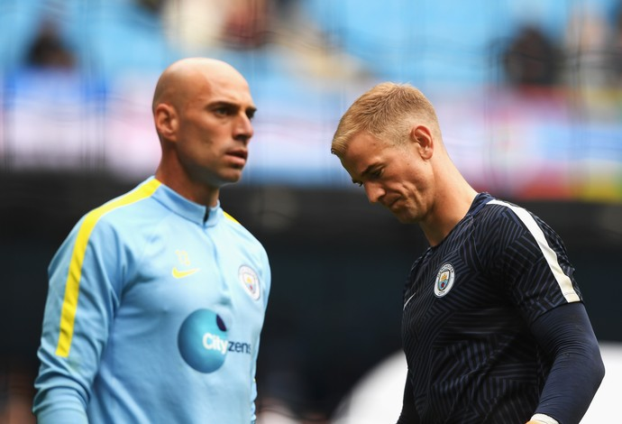 Caballero Hart Manchester City (Foto: Getty Images)
