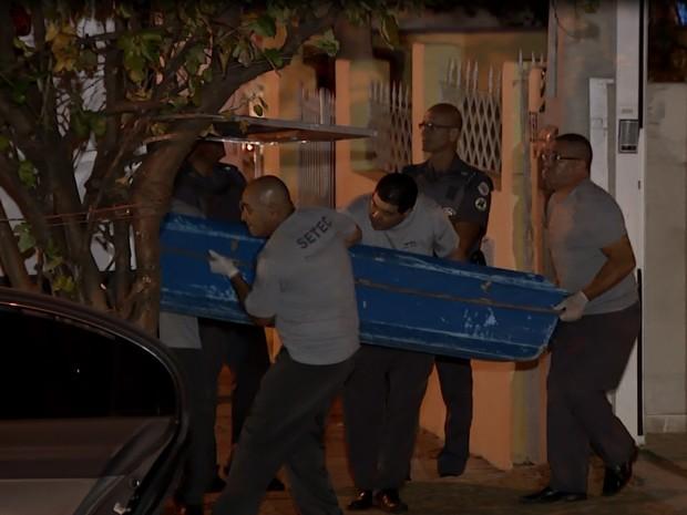 Família foi morta durante festa de ano novo (Foto: José Braz/ EPTV)
