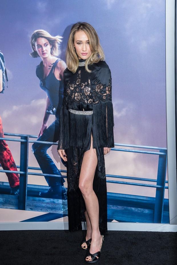 Maggie Q em première de filme em Nova York, nos Estados Unidos (Foto: Mark Sagliocco/ Getty Images/ AFP)
