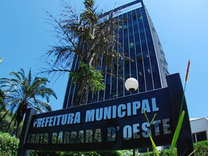 Sede da Prefeitura de Santa Bárbara d'Oeste (Foto: Claudio Mariano/SBONews)