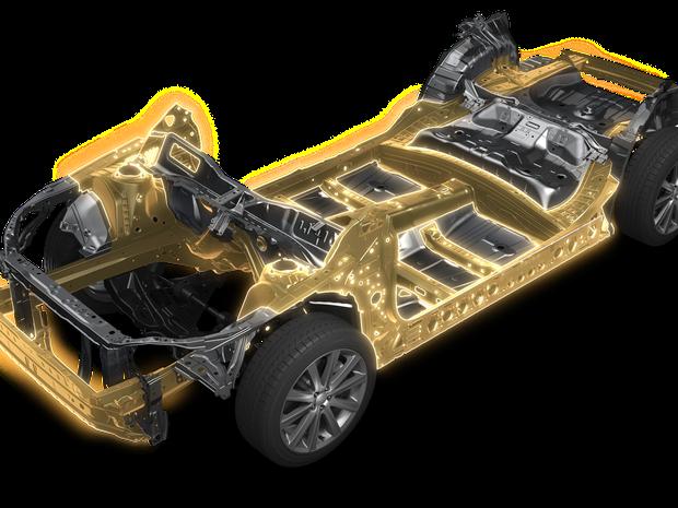 Nova plataforma da Subaru será usada em toda a linha (Foto: Divulgação)