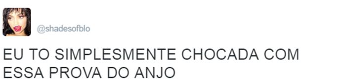 Internauta comenta Prova do Anjo Triturador BBB (Foto: Reprodução da Internet / Twitter @shadesofblo)
