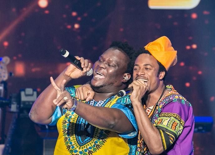 Dois Africanos conquistaram o público no último SuperStar (Foto: Isabella Pinheiro / TV Globo)
