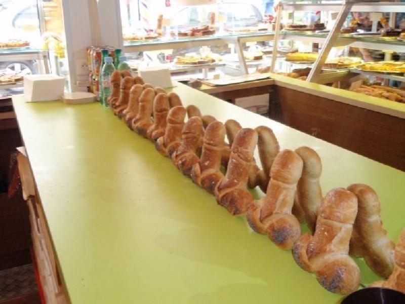 Baguette magique:o pão em formato de pênis na padaria de Paris