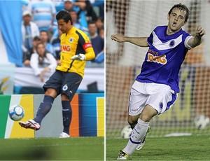 Fábio e Montillo são desfalques certos contra o Atlético-MG (Foto: Editoria de arte / TV Globo Minas)