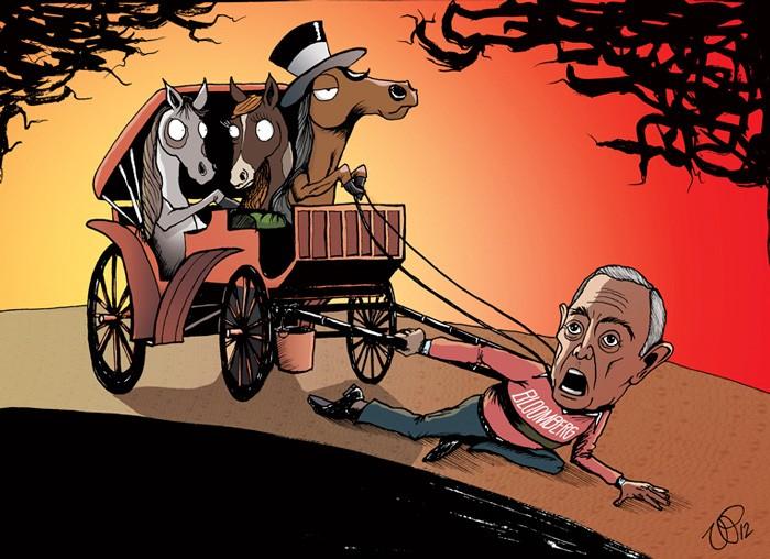 Ilustração feita por Vin Paneccasio (Foto: Reprodução)