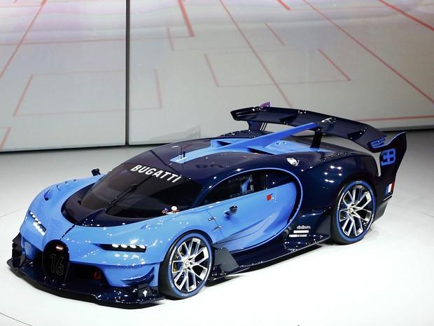 Bugatti Vision Gran Turismo (Foto: Kai Pfaffenbach/Reuters)