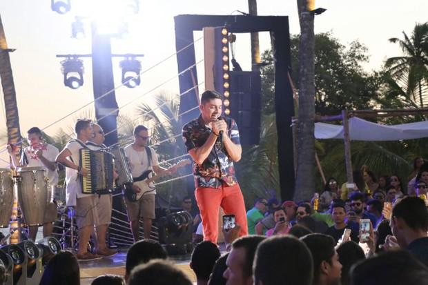 Jonas Esticado grava DVD (Foto: Pedro Augustho/Divulgação)