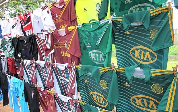 Palmeiras e Fluminense, Presidente prudente (Foto: Richard Souza / Globoesporte.com)