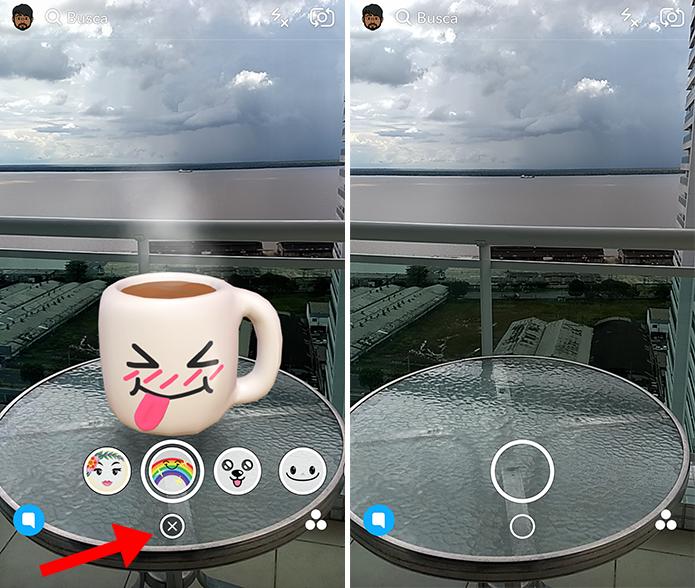 Desabilite os filtros quando quiser (Foto: Reprodução/Paulo Alves)