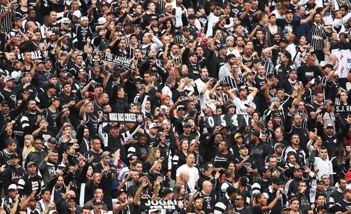 Torcida Corinthians x Botafogo (Foto: Marcos Ribolli)