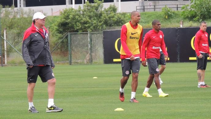 Inter treina no Parque Gigante (Foto: Tatiana Lopes/GloboEsporte.com)