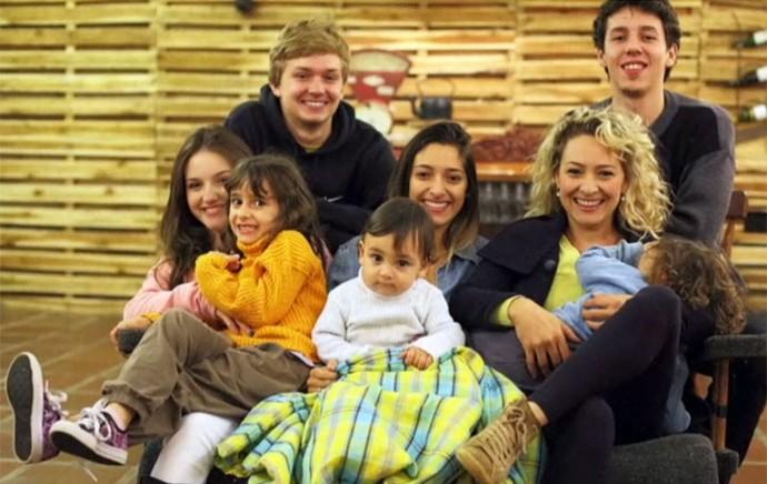 O Paraná em Tamanho Família: conheça a Zizi e os sete filhos! (Foto: Arquivo pessoal)