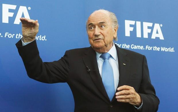 FIFA Presidente Sepp Blatter (Foto: Reuters Media Express)