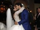 Kamilla Salgado e Eliéser se casam em São Paulo