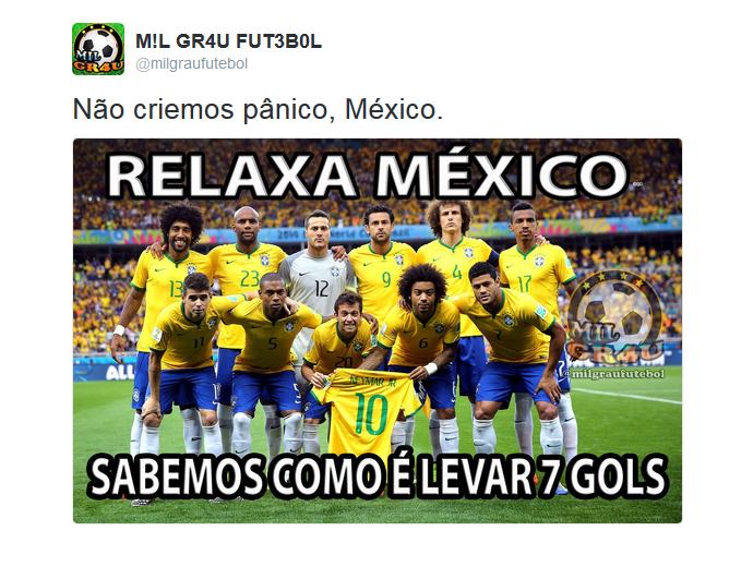 México Chile goleada zoações 7 a 0 Copa América