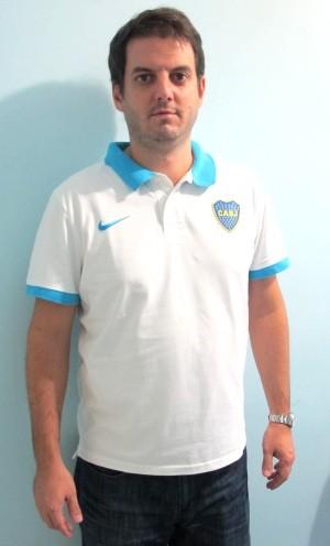 Matias Sassaro, Boca Juniors (Foto: Lincoln Chaves)