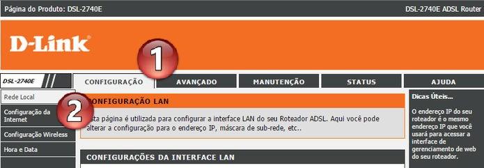 Acessando as configurações de internet (Foto: Felipe Alencar/TechTudo)