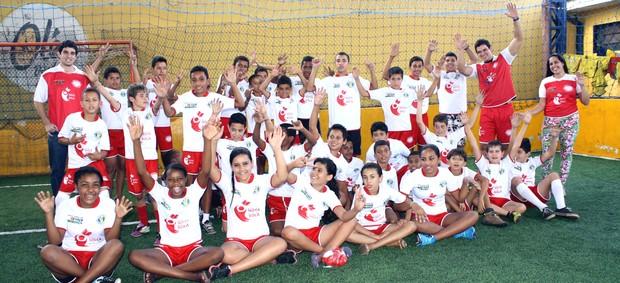 Criança Esperança é parceira da associação coordenada por Sócrates Júnior (Foto: Cleber Akamine)