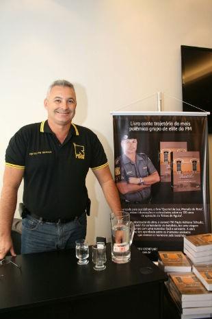 O tenente-coronel Paulo Adriano Lopes Lucinda Telhada (Foto: Mauricio Camargo/Futura Press)