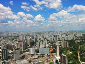 Vista aérea de São José dos Campos (Foto: Divulgação/Prefeitura de São José dos Campos)