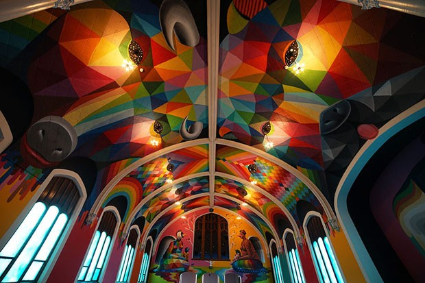 Igreja nos Estados Unidos surpreende com cores e maconha (Foto: Divulgação)