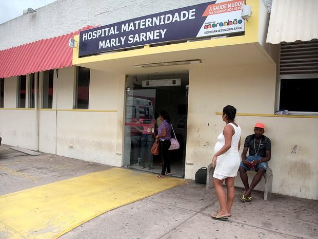 Rapto de bebê aconteceu na Maternidade Marly Sarney, em São Luís (MA) (Foto: Flora Dolores/O Estado/Arquivo)