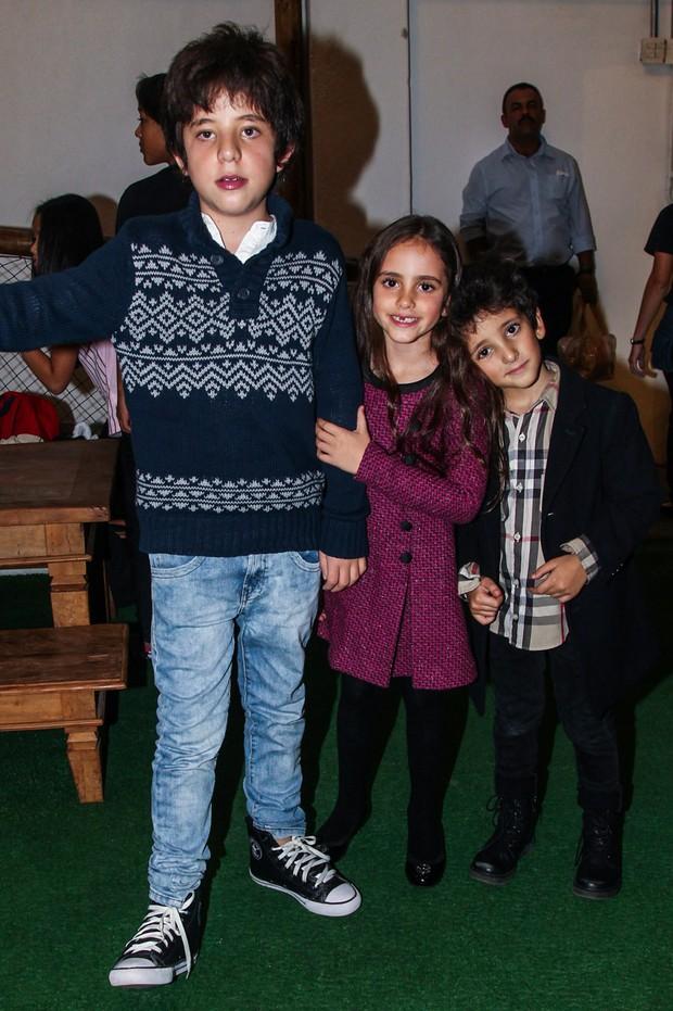 Romeu Donatella Stefano, filhos de Marcos Mion (Foto: Manuela Scarpa / PhotorioNews)