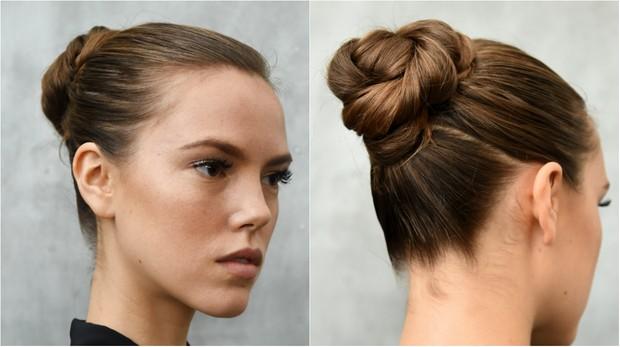 Cabelos com  tranças prometem ser hits do verão 2017 e foi tendência de beleza apresentada durante a Semana de Moda de Nova York  (Foto: Getty Image)