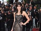 Isabelli Fontana e Adriana Lima brilham em première em Cannes