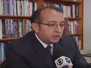 Promotor de Justiça de Uberlândia, Fábio Guedes (Foto: Reprodução/TV Integração)