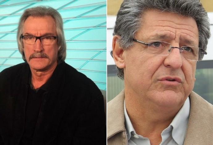 Rafael Cammarota Coritiba Nivaldo Atlético-PR Atletiba (Foto: SporTV e Fernando Freire)