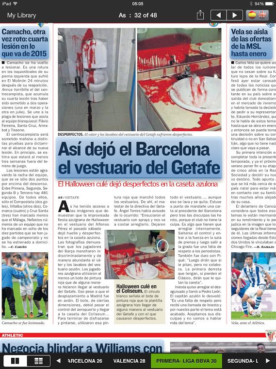 Vandalismo jogadores do Barcelona