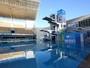 Reforma de parque aquático olímpico sofre atraso por causa de rede elétrica