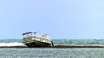 PREP naufrágio (Foto: TV Globo)