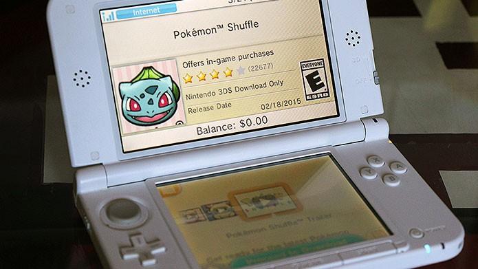 Na página do Pokémon Shuffle no eShop, clique em Proceed to Download para baixar (Foto: Reprodução/Tais Carvalho)