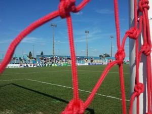 Estádio Jacques da Luz (Foto: Diogo Nolasco/TV Morena)