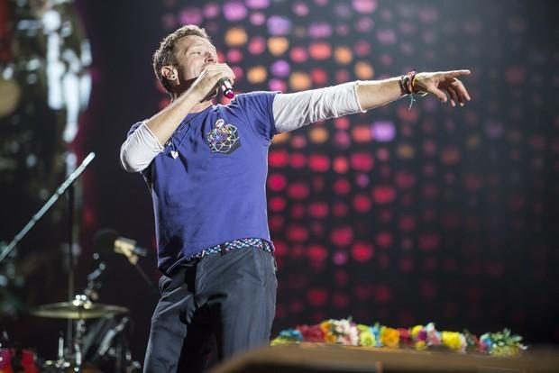Coldplay em Buenos Aires, na Argentina (Foto: Beto Landoni/Divulgação)