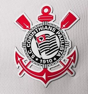 Escudo da nova camisa do Corinthians (Foto: Divulgação)