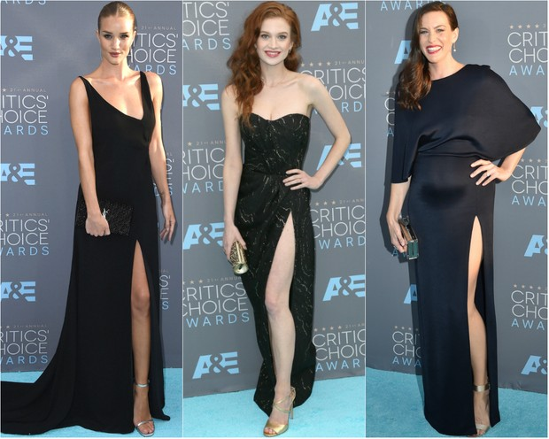 Rosie Huntington-Whiteley, Sarah Hay e Liv Tyler no Critic's Choice Awards (Foto: Getty Images)