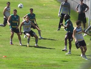 Treino do Botafogo, Bola Parada (Foto: Thales Soares / Globoesporte.com)
