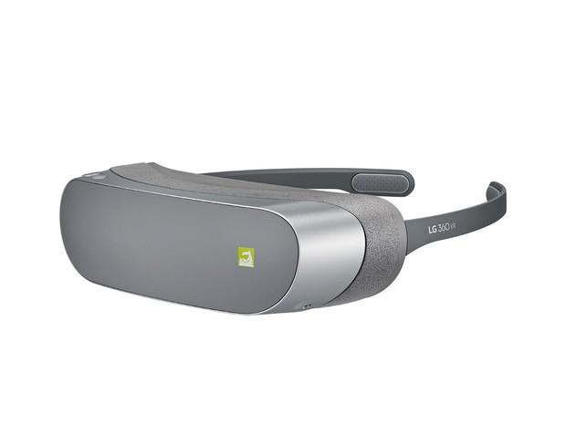 Óculos de realidade aumentada  LG 360 VR, da LG. (Foto: Divulgação/LG)